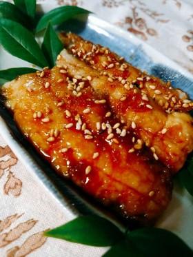 秋刀魚のかば焼き【柏市学校給食】