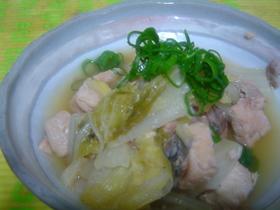 簡単♪白菜と鮭缶のくたくた煮