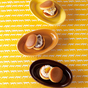 クリームどら焼き(トロピカルチーズクリーム・あずきクリーム・和栗とマロンのクリーム)