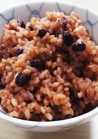 炊飯器で簡単❗発芽酵素玄米(寝かせ玄米)