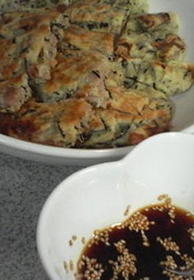 韓国料理+日本料理=ひじきのチヂミ