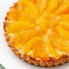 オレンジとグレープフルーツのタルト
