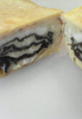グルグル◎海苔の卵焼き