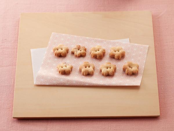 桜のあられクッキー