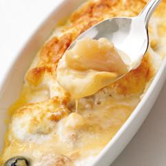 桃のコンポートオーブン焼き