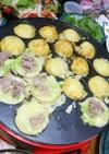 ❤️中秋名月☺️豚・卵ボール焼き❤️