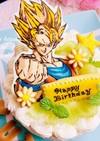 ドラゴンボール♡キャラチョコ♡ケーキ