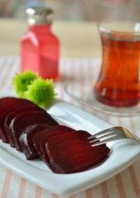 トルコの家庭料理☆焼きビーツ