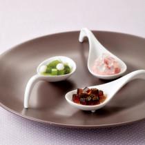 スプーンデザート(抹茶スプーン・いちごと桜のスプーン・黒糖スプーン)