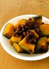圧力鍋で簡単☆かぼちゃのいとこ煮