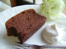 レア風 チョコレートケーキ