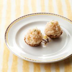 青柚子と和栗のモンブラン