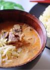 旨辛☆豆乳のカレーチーズつけ麺
