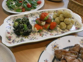 クリスマスにいかが?☆小さな前菜~3種