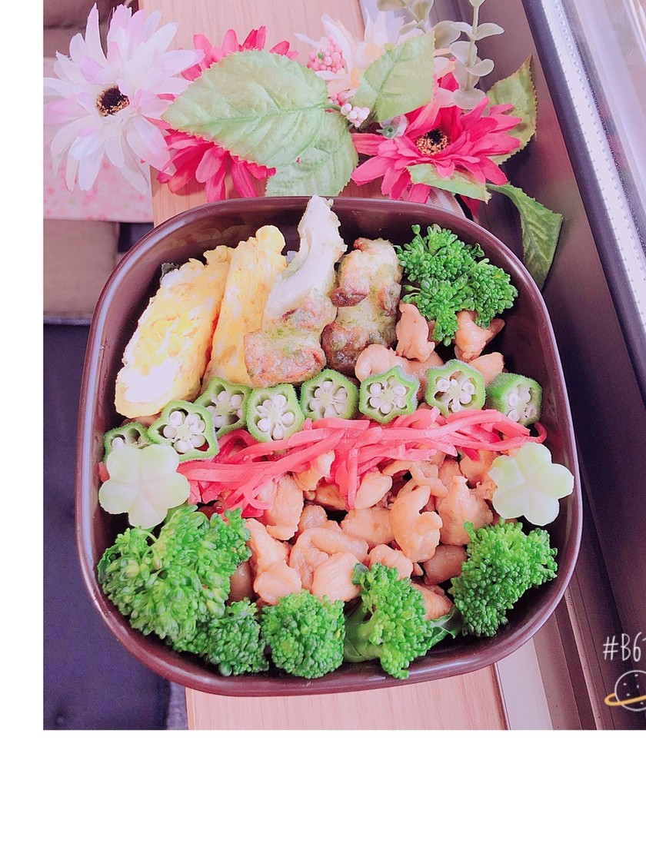 ☆簡単焼き鳥丼弁当☆!!