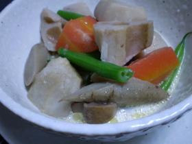 根菜の洋風煮 クリーム味で