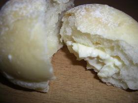 Wクリームチーズ白パン❤