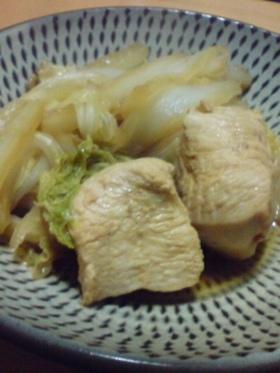 鶏と白菜(中華ver)