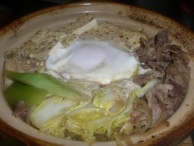 土鍋deホカホカ肉豆腐☆