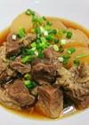 ホッと温まる☆大根と牛肉の韓国風煮込み