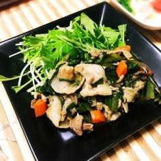 ほんのりとろ〜り青野菜たっぷり豚肉炒め♪