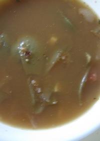 アーティチョークとトマトのスープ