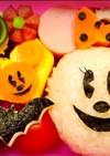 キャラ弁☆おばけミニー&かぼちゃミッキー