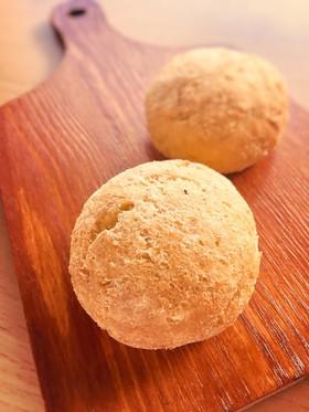 糖質制限◆混ぜて焼くだけ!万能おからパン