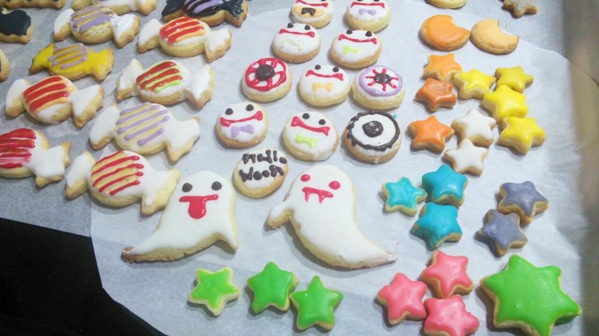 ハロウィン♥簡単アイシングクッキー