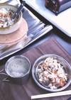 アウトドア飯土鍋でさんま缶の炊き込みご飯