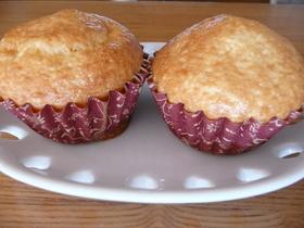 ホットケーキミックスでプチバターケーキ