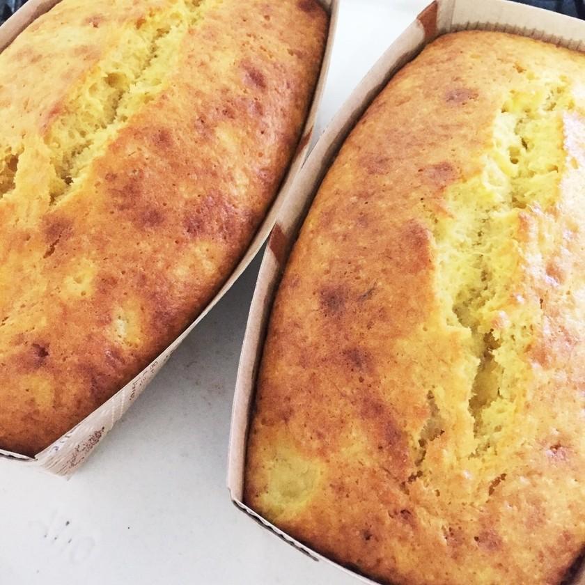 HMでバナナパウンドケーキ