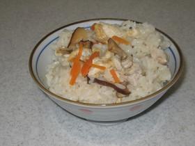 圧力鍋で作る炊き込みご飯♪