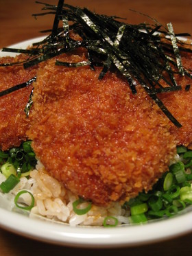 ガッツリ☆ねぎカツ丼