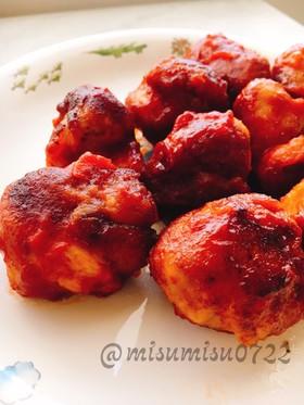 【お弁当】豚こまボールのケチャップ煮込み
