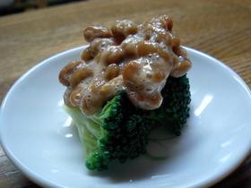 納豆&ブロッコリー