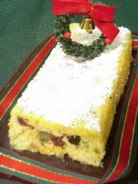 クリスマスにシュトーレン風おからケーキ