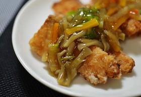 野菜たっぷり♪揚げ魚のあんかけ