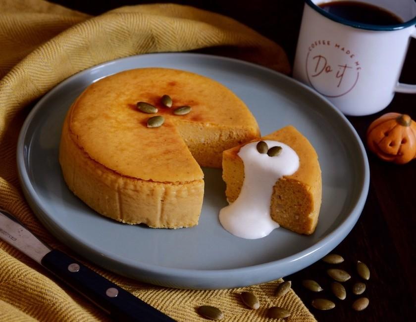 簡単★パンプキンスパイスチーズケーキ
