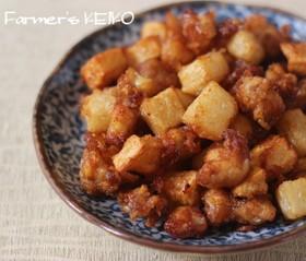長芋と鶏ひざナンコツの唐揚げ