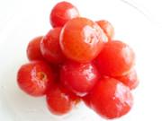 プチトマトの湯剥きの方法の写真