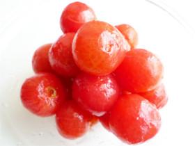 プチトマトの湯剥きの方法