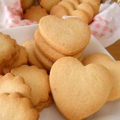 アレルギーっ子も安心♡サクサク粉クッキー