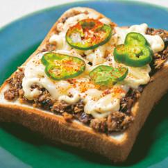 サバのマヨ・チーズトースト