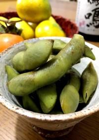 本場丹波篠山、黒枝豆の甘み引き立つ茹で方