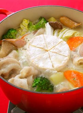 カマンベールチーズごま豆乳鍋 b...