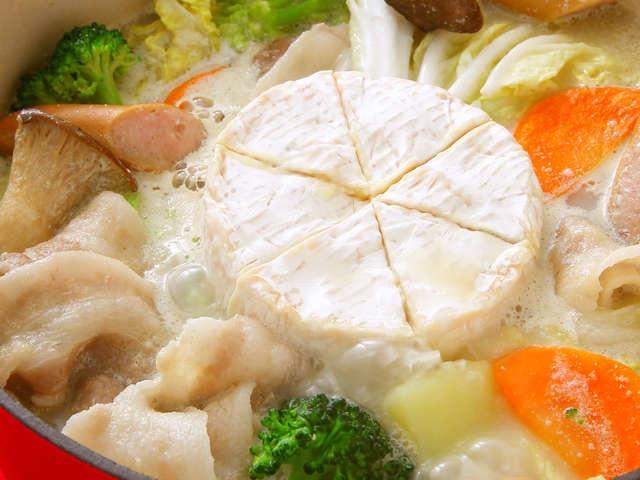 カマンベール チーズ 鍋