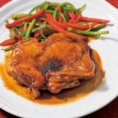 鶏もも肉の照り焼き