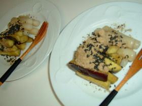 トッポギとさつま芋のはちみつバター焼き