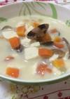 あさりと豆乳のスープ